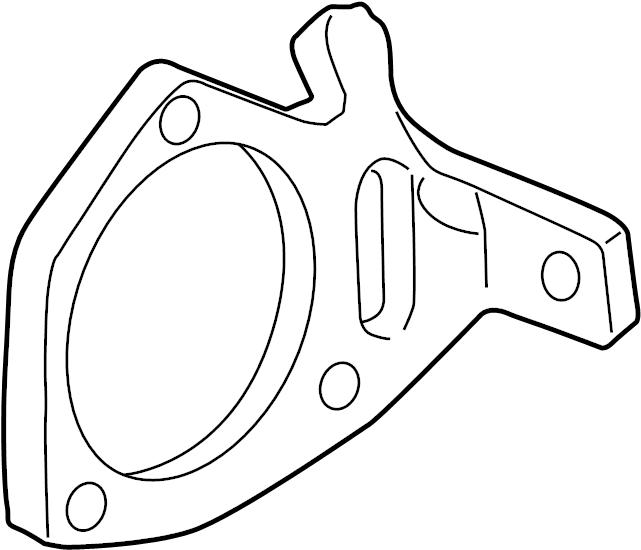 Pontiac Montana SV6 Abs sensor bracket. Abs sensor wire