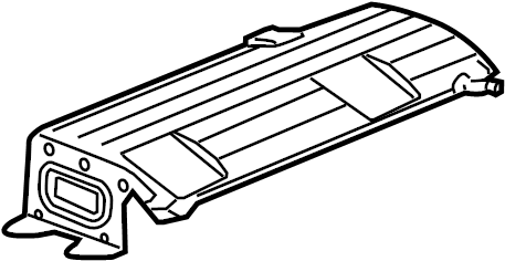 GMC Acadia Denali Heat shield. SHIELD. SHIELD-EXH MUFF HT