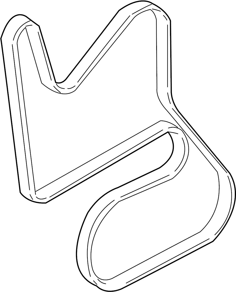 Pontiac Montana SV6 Serpentine Belt. Buick; CHEVROLET