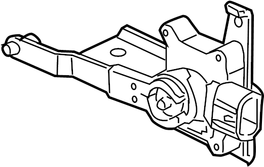 Pontiac Montana SV6 Level sensor. REAR SENSOR. SENSOR