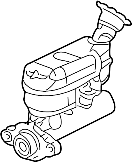 Pontiac Montana SV6 Brake Master Cylinder Reservoir