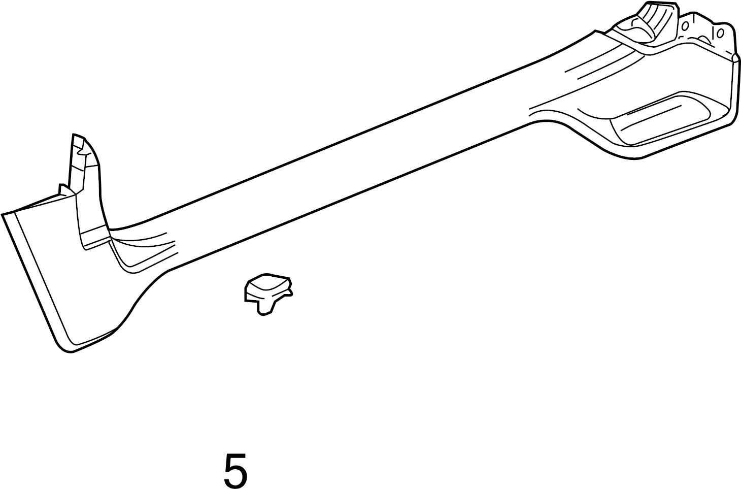 Buick Regal Carpet Retainer Clip Cowl Trim Clip