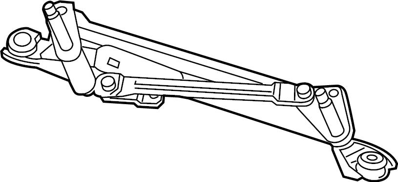 Chevrolet Trax LT Frame. Front transmission. Wiper linkage