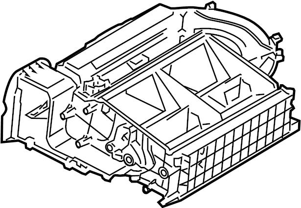 Pontiac Montana SV6 Case asm-blo upr. Evaporator case
