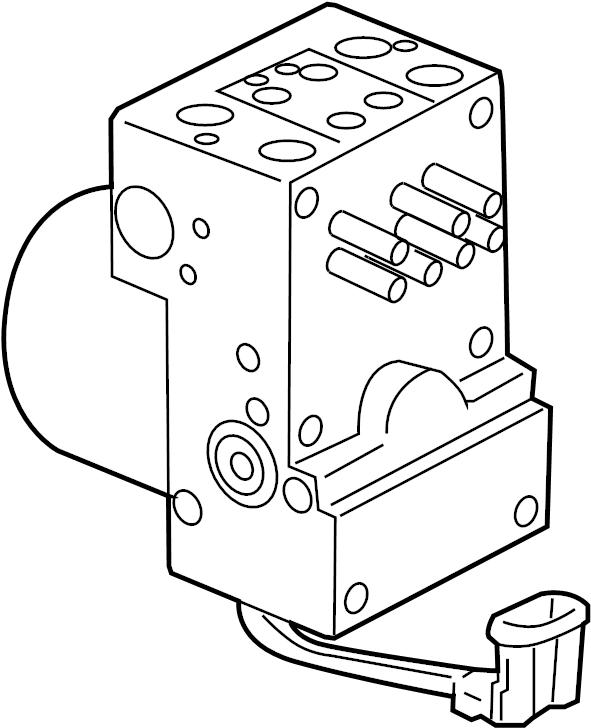 Pontiac Montana SV6 Modulator. MODULATOR VALVE. VALVE KIT