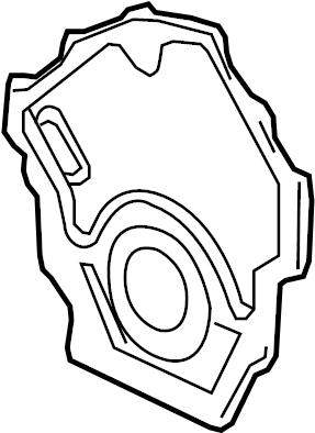 2006 Pontiac Grand Prix Timing Cover Diagram
