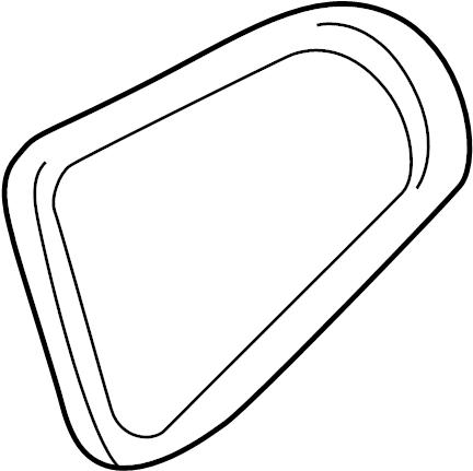 1997 Cadillac Belt. Serpentine belt. Serpentine tensioner