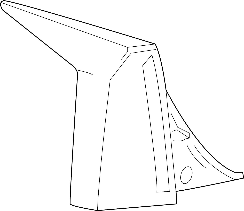Cadillac Xlr Lamp Tail Lamp Assy
