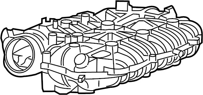 2013 Buick Enclave Intake manifold. INTAKE PLENUM