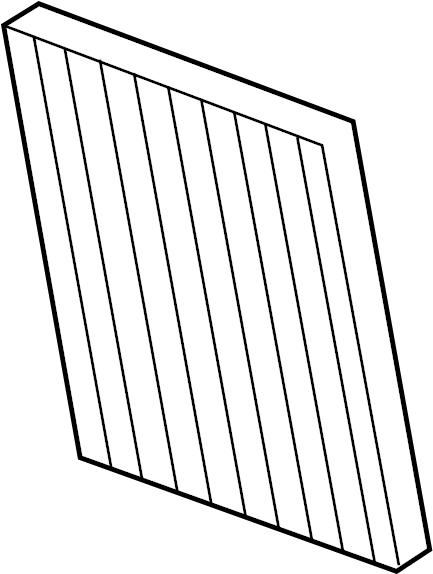 2006 Cadillac SRX Air filter. Filter. Filter ki. Filter