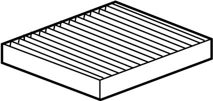 Chevrolet Impala Air filter. Filter. Buick; cadillac