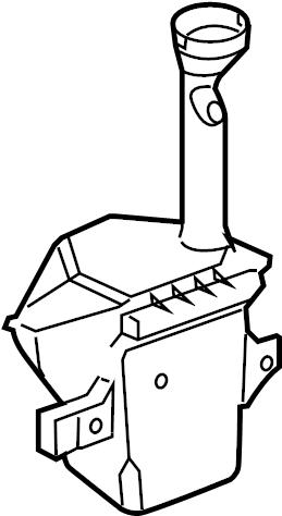 Pontiac G8 GT Expansion tank. Reservoir. Chevrolet
