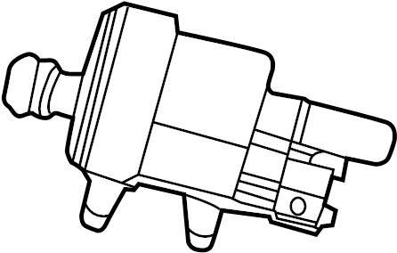 2014 Buick Enclave Purge control valve. Purge solenoid