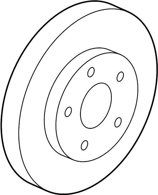2013 Chevrolet Cruze Rotor. 15 brakes. All. Cruze, cruze