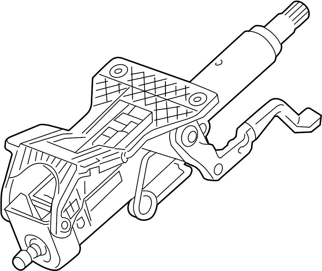 Chevrolet Cruze LTZ Steering Column. W/lock control ; w
