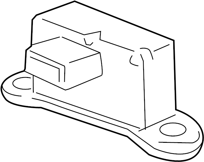 Chevrolet Cruze Sensor. Yaw rate sensor. Yaw sensor