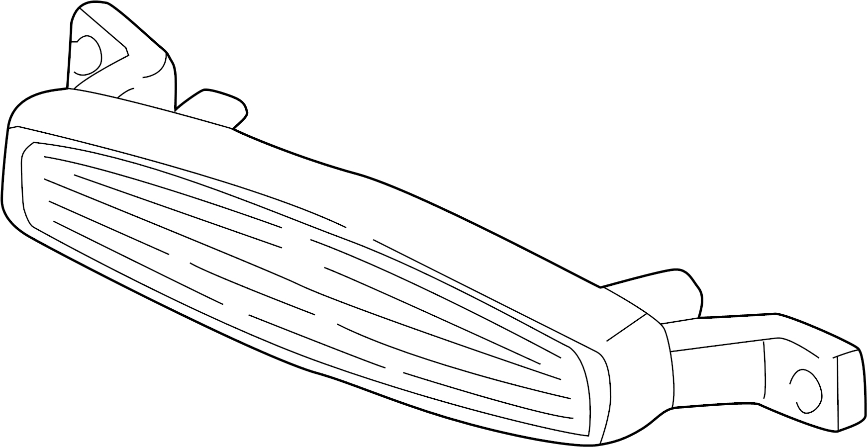 Chevrolet Monte Carlo High Mount Lamp Lamp