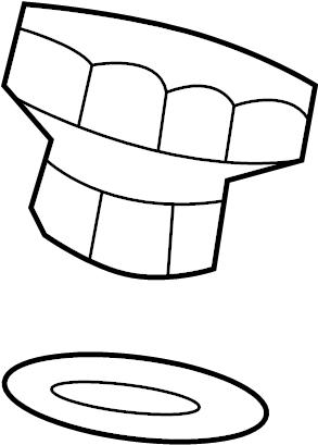 Chevrolet Sonic Filler cap. 1.8 LITER. ENGINE, TRANSAXLE