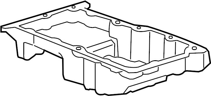 Pontiac G5 Oil pan. PAN. PAN ASM-OIL. PAN, OIL. Includes