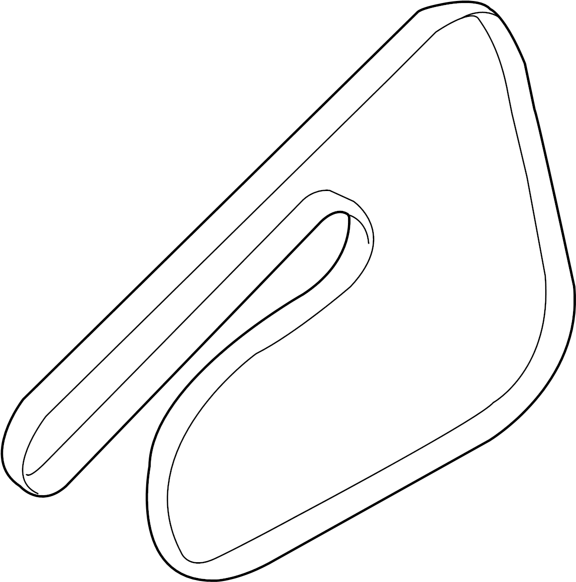 Chevrolet Silverado Hd Belt Serpentine Belt 11