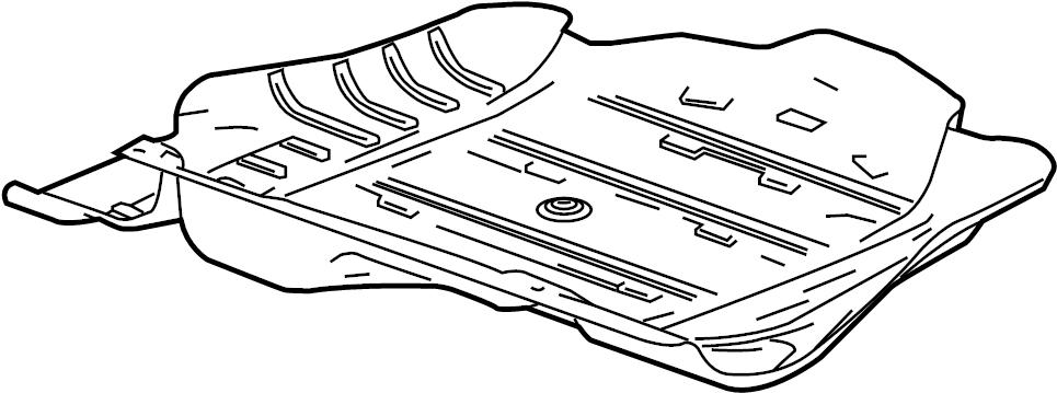 2008 Pontiac G6 Base Shield. Shield asm-f/tnk lwr. Tank
