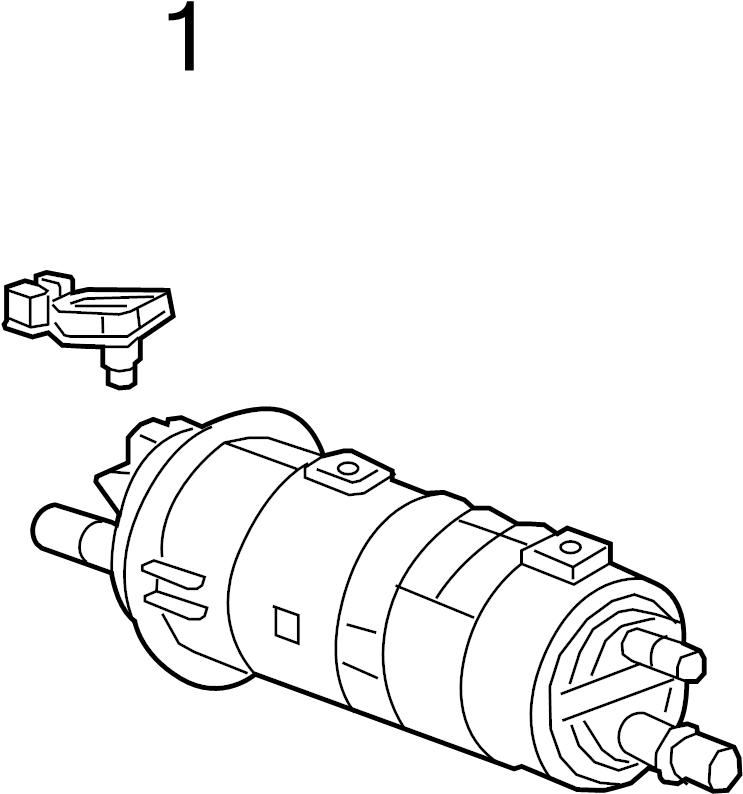 2016 Chevrolet Volt Pressure sensor. SENSOR. TANK PRESSURE