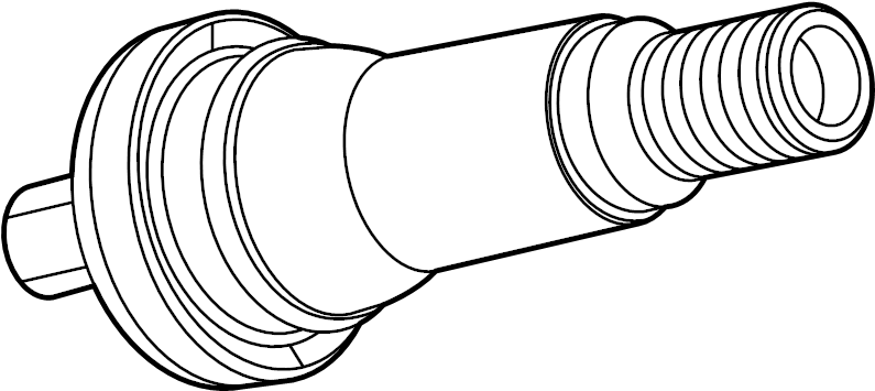 GMC Acadia Repair kit. TPMS sensor valve. TPMS sensor