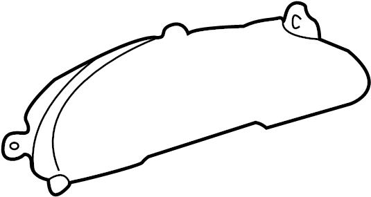 2005 Pontiac Sunfire Cluster. INSTRUMENT CLUSTER. Auto