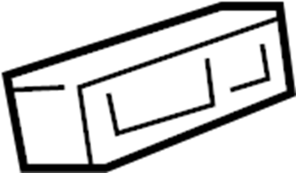 Pontiac Montana SV6 Indicator. INDICATOR ASM-INFL RST I/P