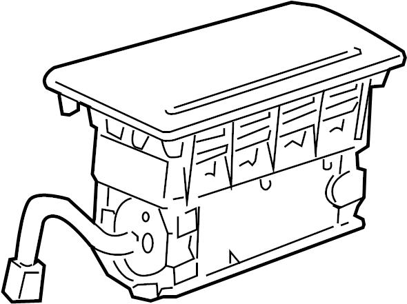 Pontiac Montana SV6 Airbag. Module asm-infl rst i/p