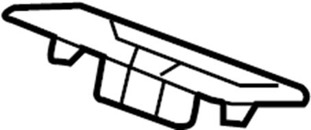 Pontiac Montana SV6 Bezel. BEZEL, R/SEAT #2 BELT OPG (LAT