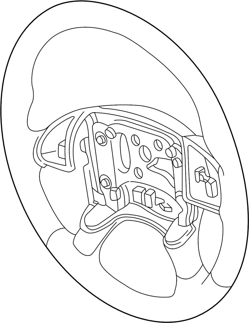 Pontiac Montana SV6 Steering wheel. Wheel. Wheel asm-strg