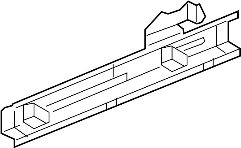 Pontiac G6 GTP Rocker Panel. Left Inner; SEDAN. RAILS