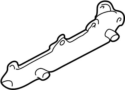 Pontiac Montana SV6 Exhaust manifold. MANIFOLD. MANIFOLD