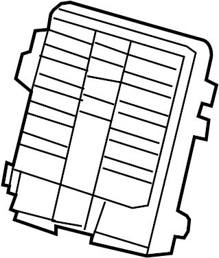 2014 Cadillac Escalade Base Block. Junction block