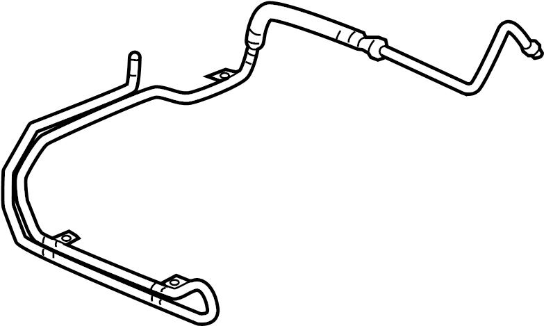 Pontiac Montana SV6 Cooling pipe. HOSE. HOSE ASM-P/S FLUID