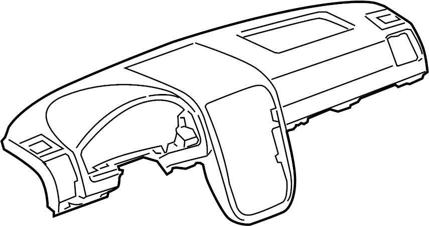 Pontiac Montana SV6 Inst finish pnl. Instrument Panel