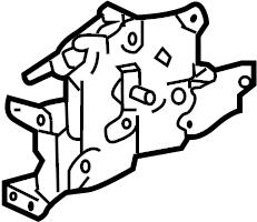 Pontiac Montana SV6 Latch. Lock. Lock asm-rr s/d frt