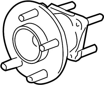 Pontiac Montana SV6 Bearing asm-rr whl. Hub. Hub & bearing