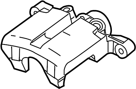 Pontiac Montana SV6 Caliper. Disc Brake Caliper. Rear Left