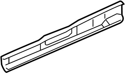 2000 Chevrolet Venture LT Inner rocker. Rear rail assy