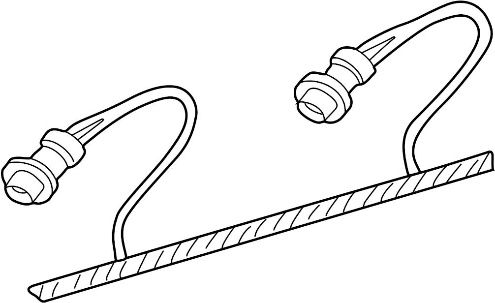 Pontiac Montana SV6 Connector. Socket. Socket & wire
