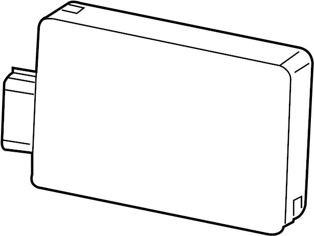 GMC Acadia Module. Object sensor. Object sensor mount