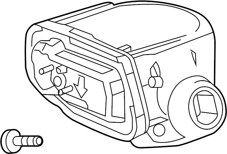 Chevrolet Cruze Sensor. Tire pressure sensor. Tpms sensor