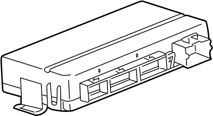 Pontiac Torrent Base Body Control Module. Control module