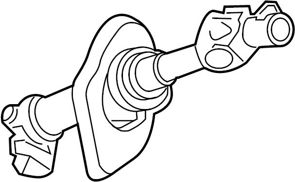 2006 Saturn Ion 3 Intermediate shaft. Steering shaft