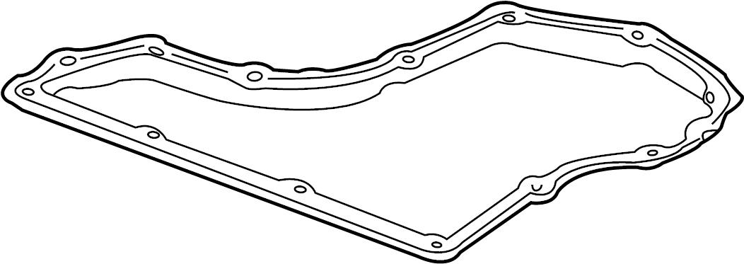 1997 Pontiac Gasket. Gasket-a/trns oil pan. Gasket-oil pan