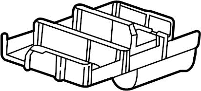 Pontiac Torrent Lower retainer. Retainer. RETAINER