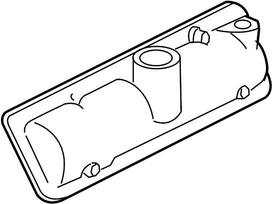 Pontiac Torrent Cover. Cover asm-vlv arm. Pcv valve. Valve