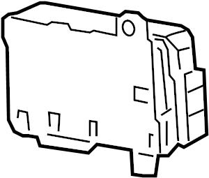 Pontiac Montana SV6 Bcm. Body control module. Module